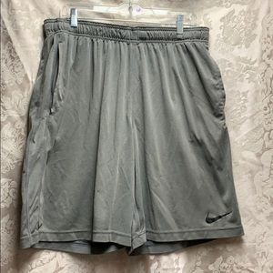🌈🦄 Nike Dri Fit Shorts xlarge grey